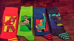 The Justice League...of Socks